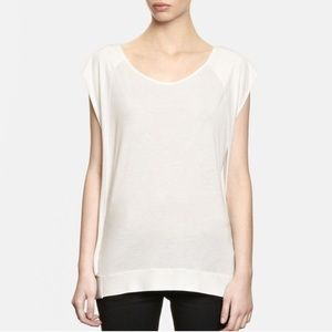 All Saints Open Back T-shirt Loose Jules Top
